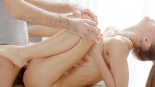 Balls deep fuck for a cutie in hot massage porn movie