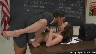 Reagan Ross is pounded nicely by Rocco Reed