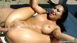 Asa Akira in Asa takes it in the ass