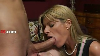 MILF and her doughter loving together with boyfriend