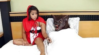Red Riding Hood Is Fooled  And Gets A Dick Up Her Pussy
