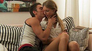 Angelika & her ex boyfriend