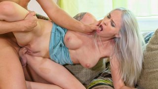 Distraught Blonde Lady 69s & Fucks for Flat