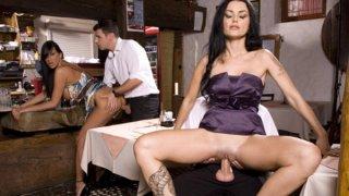 Waiters get very big tips