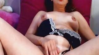 Brunette Girl Wild Masturbation To Orgasm