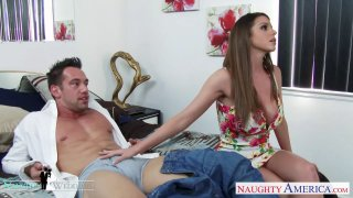 Bodacious Brooklyn Chase takes a load on the twins