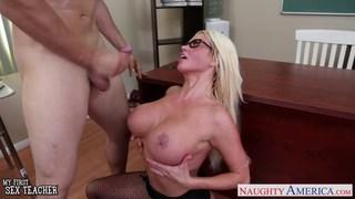 Sex teacher Nikita Von James fuck