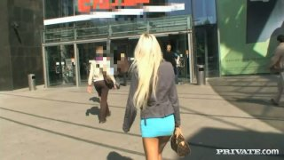 Shoping with sextracive dirty bicth Boroka Balls