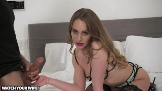 Daisy Stone Fucks Her Driver While Her Husband Watches