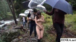 JAV outdoor nudity nature Yuu Kawakami Subtitles