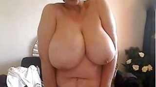 50 years old and showing my big naturals on webcam