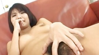 Housewife? Azumi Harusaki enjoys toys up her cunt