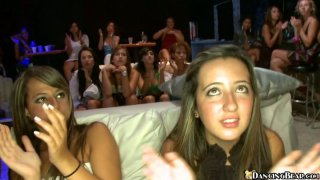 Mind blowing girls party with strippers