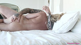 Cuckold watches wife and stud