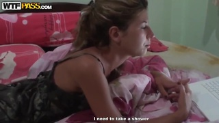 Tiffany has hot sex fun with her gf in the shower
