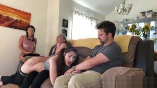 Naughty Sisters spanked